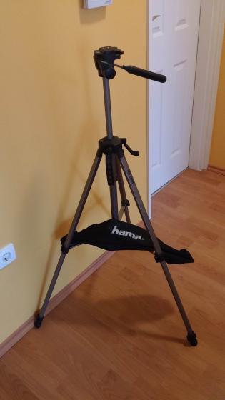 3a33f9fb006e Hama Max 2000 Fényképezőgép állvány táskával eladó ! - avx.hu